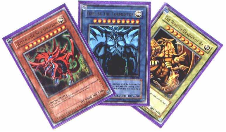 YUGIOH CARDS from FOREVERAFTER COLLECTIBLES